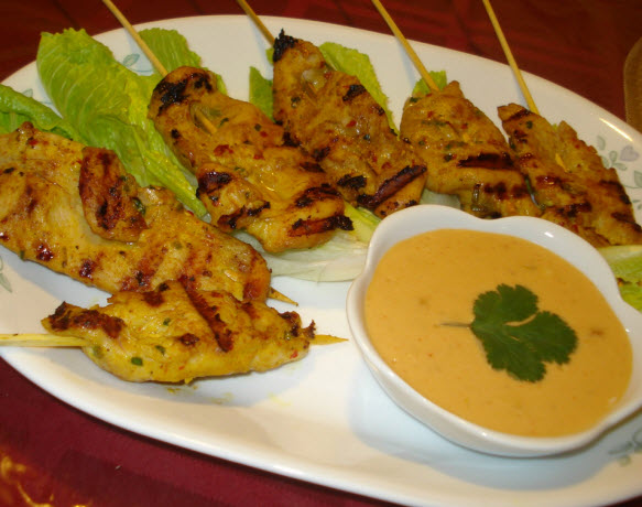 Holiday Recipe Of The Day – Easy Chicken Satay | Cherishables