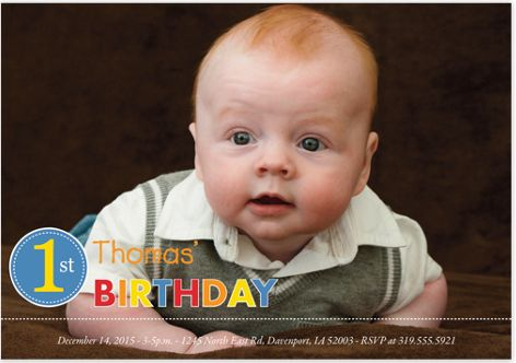 Post image for Why You Should Have a Large Celebration for Your Child's First Birthday