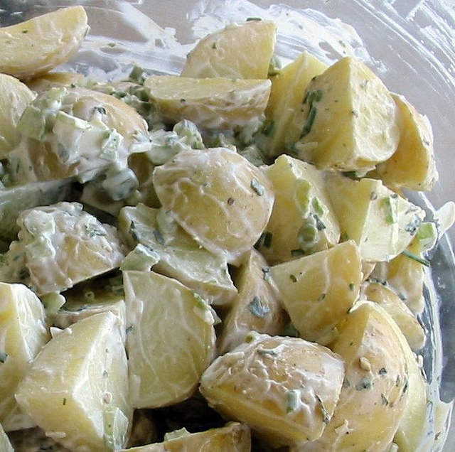 Post image for Sunday Afternoon Potato Salad Recipe