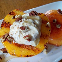 Post image for Grilled Peaches and Cream